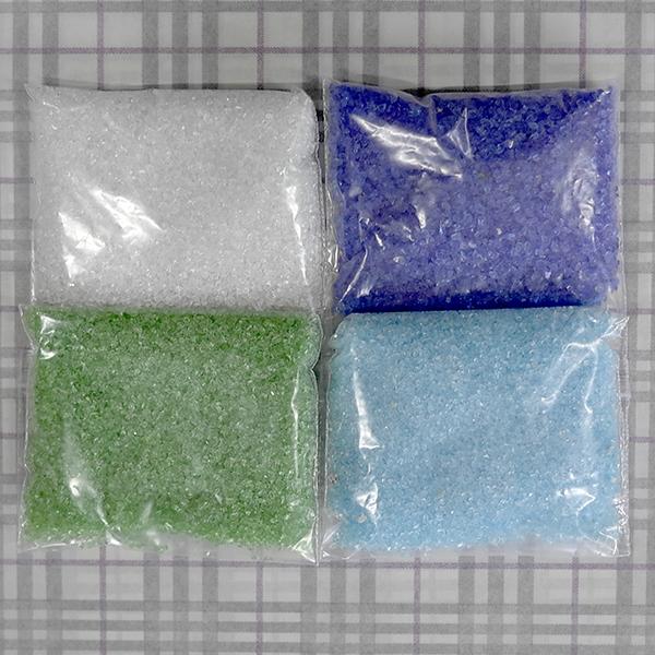 색유리 4종 100g씩판매 각 3000원.JPG