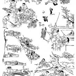 밑그림 전사 (김홍도2)